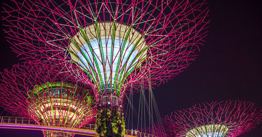 Walkway amongst the Singapore Super Trees | © Apiwit Tonsakuldej/Shutterstock