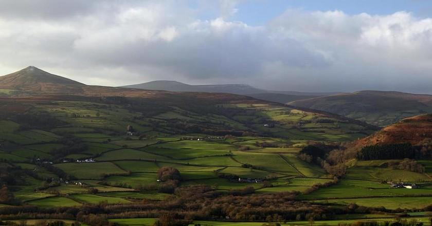 The Brecon Beacons © Simon Powell/ WikiCommons