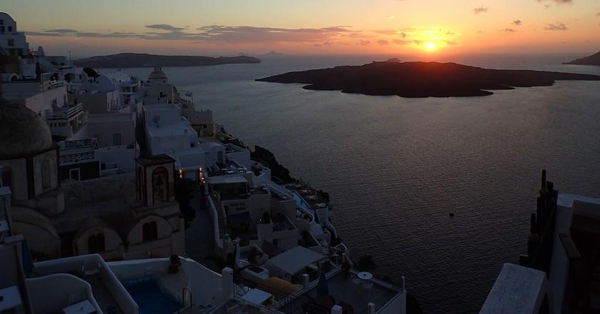 Sunset from Imerovigli | © Gozitano / Pixabay