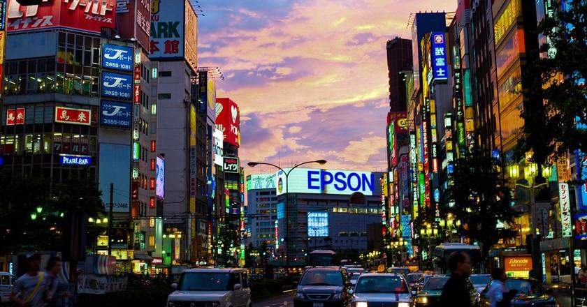 Shinjuku, Tokyo    © Joi / WikiCommons