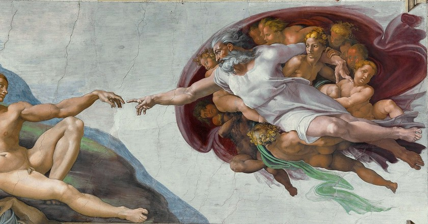 The Creation of Adam / WikiCommons
