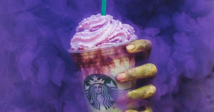 Starbucks' Zombie Frappuccino | Image courtesy of Starbucks