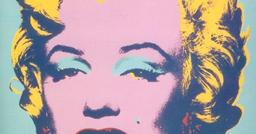 Andy Warhol, Marilyn, 1967 | Photo by Ian Burt via Flickr