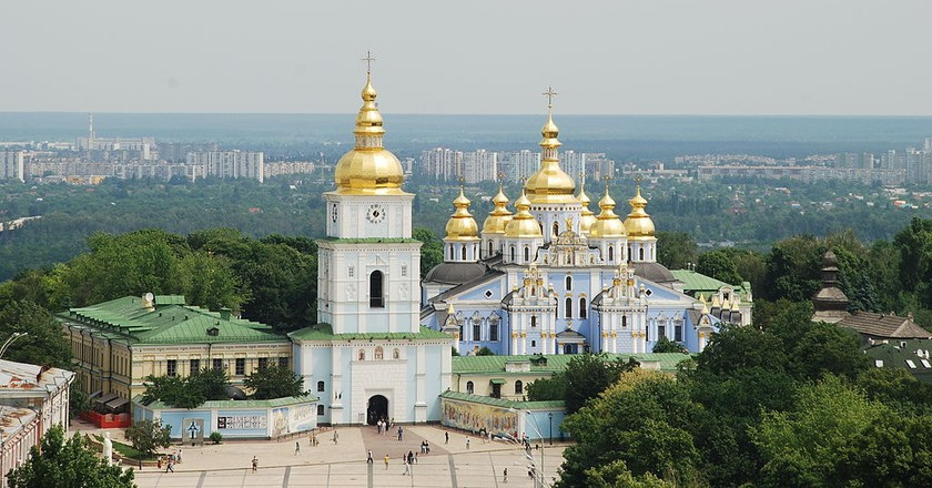 "<a href=""https://commons.wikimedia.org/wiki/File:Kiev_stmichael_May_2010.JPG"">St. Michael's Golden-Domed Cathedral