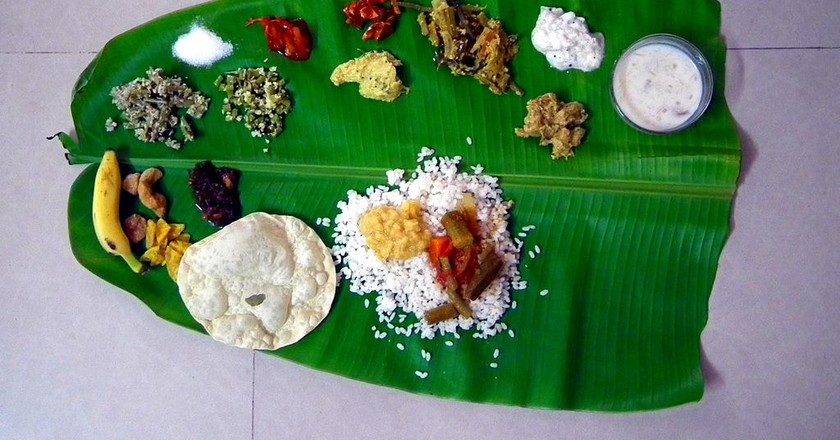 A traditional Onam Sadhya can have up to 26 items per meal  