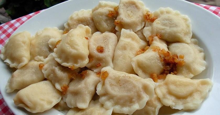 Pierogi, Polish dumplings   © Piotrus / WikiCommons