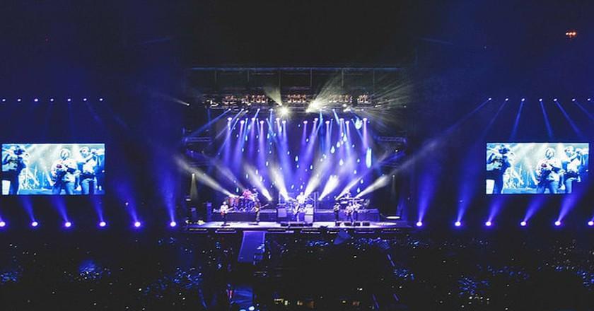 Music concert in Uruguay