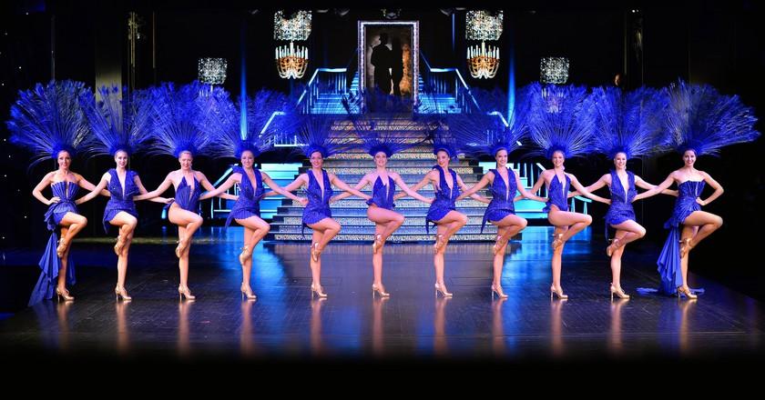 Dancers at LIDO De Paris   Courtesy of Le Lido/Pascaline Labarrere