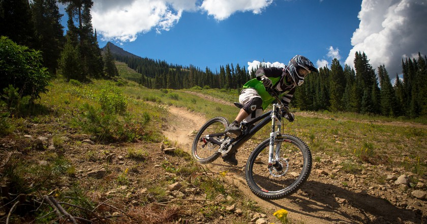 Mountain biking in Colorado | © Zach Dischner / Flickr