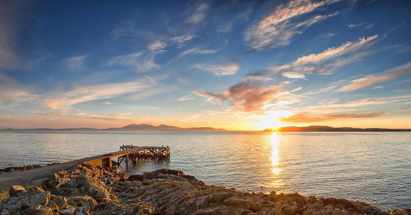 Portencross Pier| © John Mcsporran/Flickr