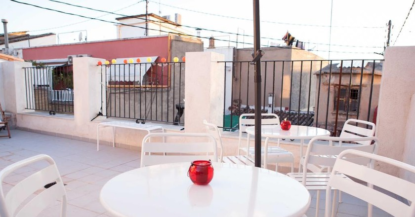 The roof terrace at Hulot B&B | Courtesy of Hulot B&B Valencia