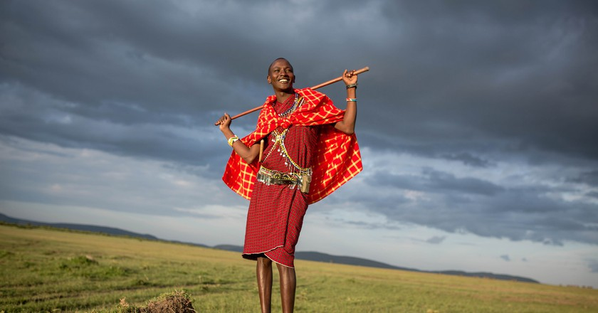 Traditional Masaai   © Make it Kenya/Flickr