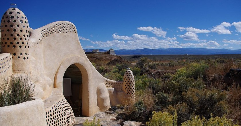 Earthship Community, Taos, New Mexico Ι © Mark Seymour/Flickr