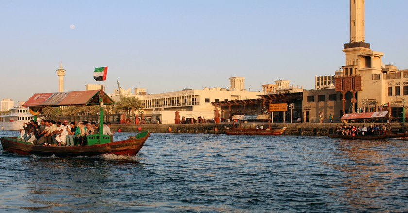 Old Dubai by boat | © siska maria eviline/Flickr
