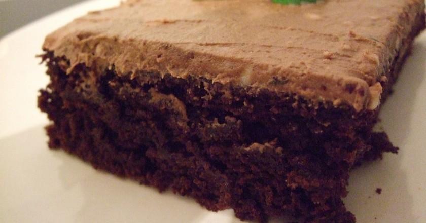 Vegan mint chocolate cake / (c) Sharon/Flickr