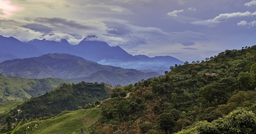 The beautiful mountains of southern Antioquia | © Pedro Szekely / Flickr