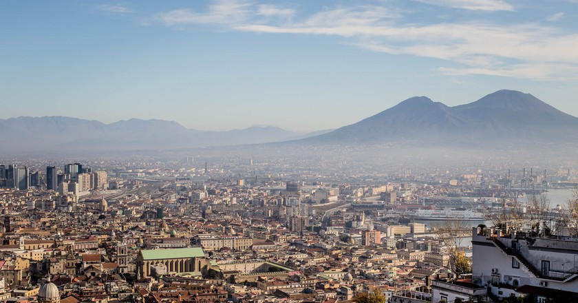Naples skyline | © N i c o l a/Flickr