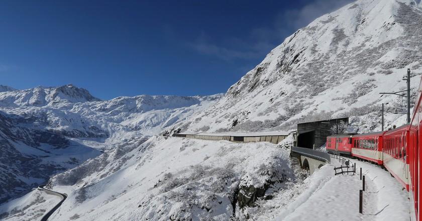 Swiss rail journey | © Kecko/ Flickr