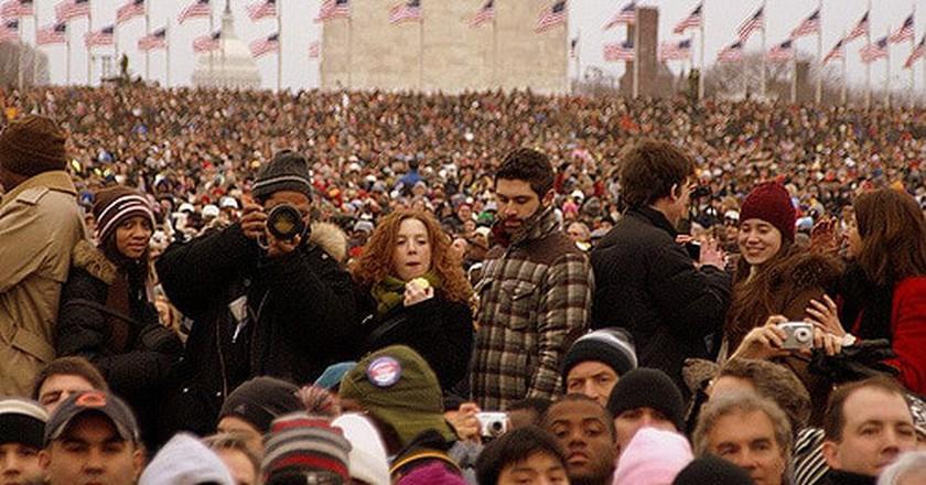 Inauguration crowd © Pablo Manriquez / Flickr