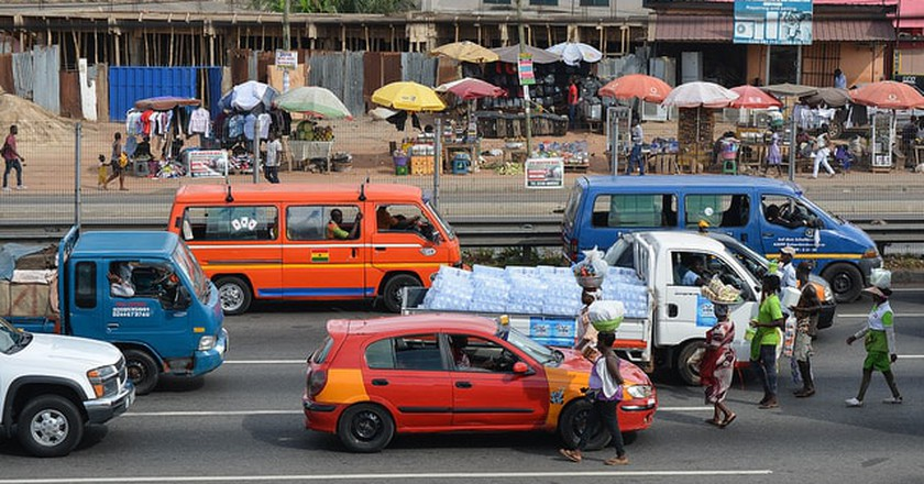 Traffic shopping | © WorldRemit Comms / Flickr