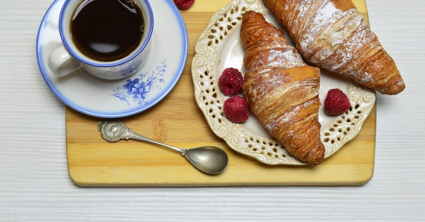 Croissant and Coffee   © Marco Verch / Flickr