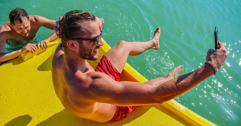 Selfie on the water | © Ádám Fedelin / Flickr