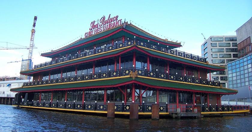 The Sea Palace in Amsterdam | © Alberto Garcia / Flickr