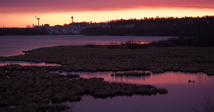 Sunset over Lake Näsijärvi   © Jarkko - / Flickr