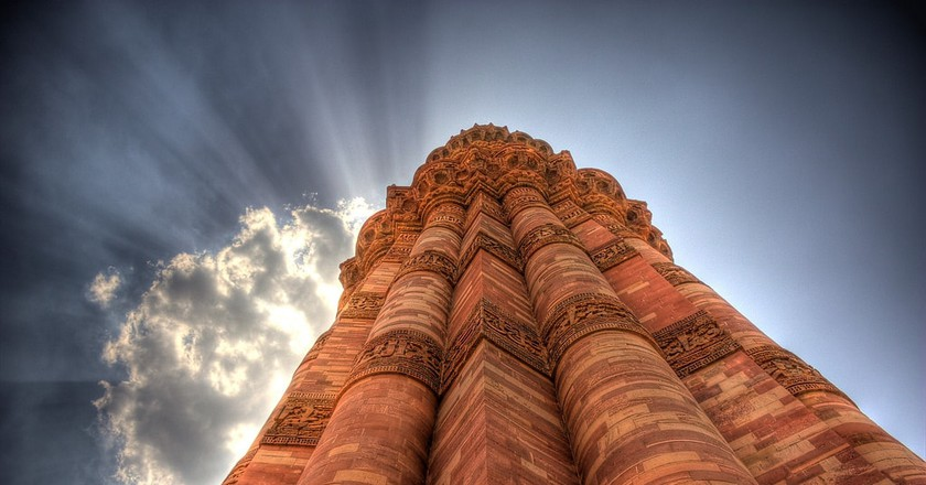 Qutub Minar in Delhi | © sporadic / Flickr
