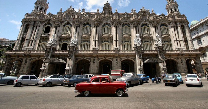 Gran Teatro de La Habana, home of the Cuban National Ballet   © Brian Snelson/Flickr