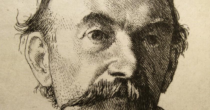1893 Etching of Thomas Hardy   © Thomas Shahan/Flickr