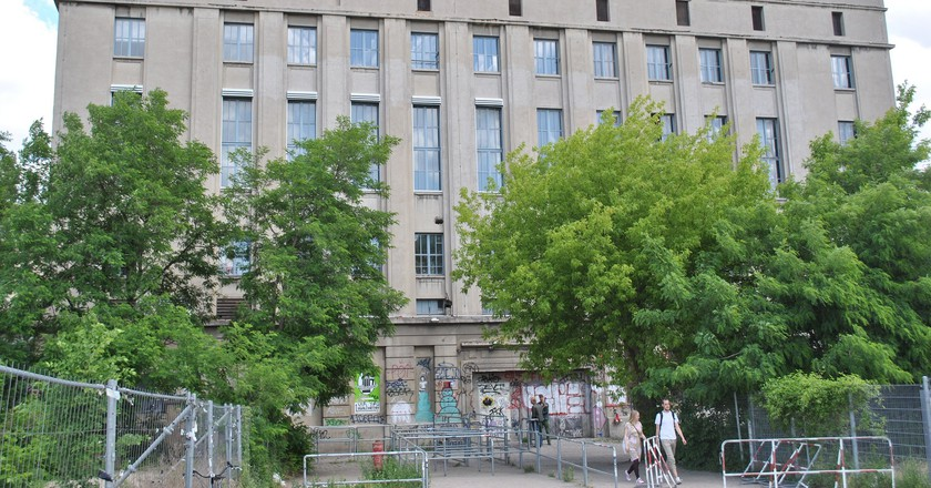 Berghain before opening