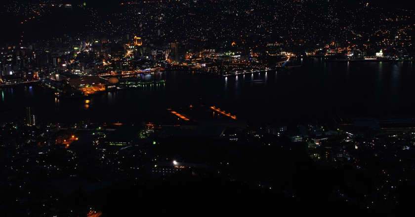 Night view of Nagasaki City | © Konstantin Leonov / Flickr