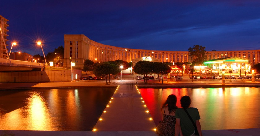 Montpellier by Night | © Free for Commercial Use / Flickr