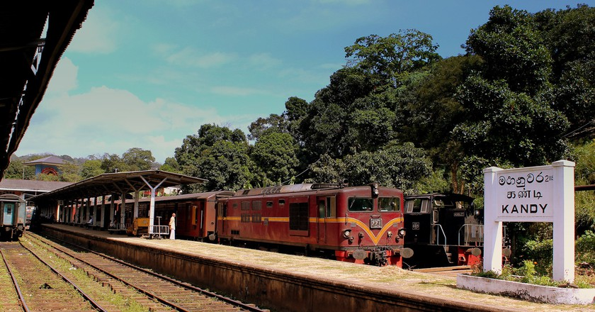 Kandy Train Station | © calflier001 / Flickr