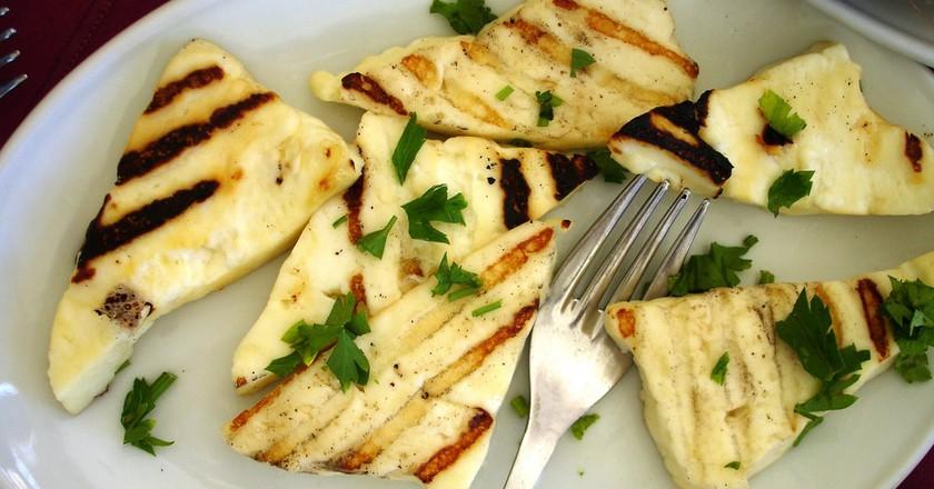 Grilled Halloumi cheese |  ©CTO Zurich/Flickr