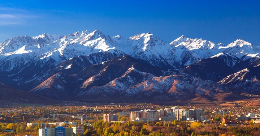 Almaty panorama, Kazakhstan | Courtesy of VisityAlmaty