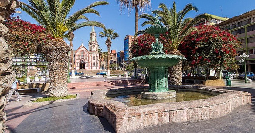 Plaza Colon in Arica | © TravelHound.cl / Flickr