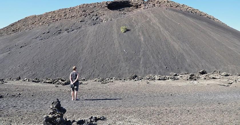 Volcan El Cuervo | © Eddy Genne / Wikimedia Commons