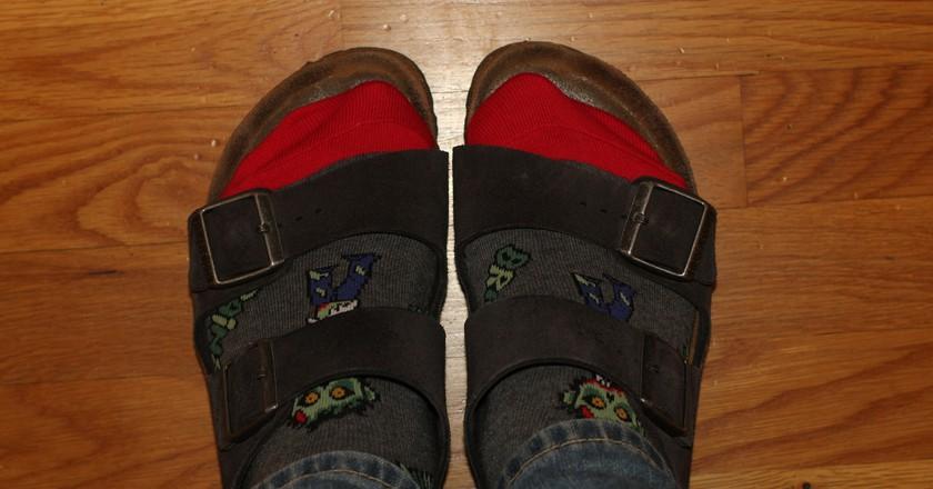 Birkenstocks and Socks   © Eli Christman / Flickr