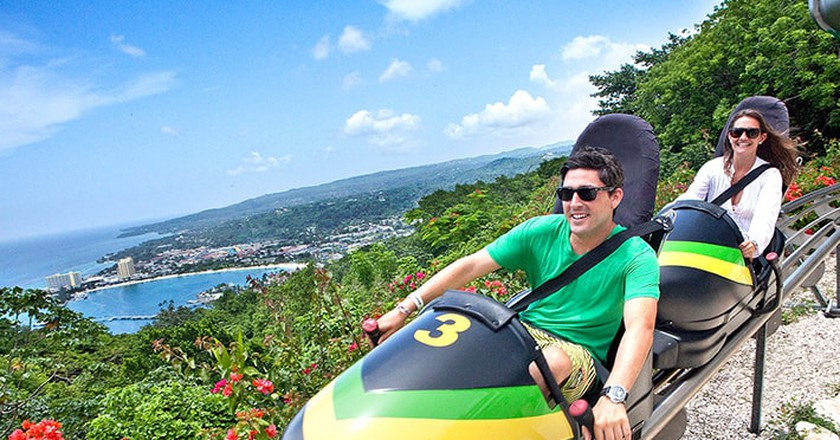 Bobsled in Mystic Mountain © Royal Caribbean International
