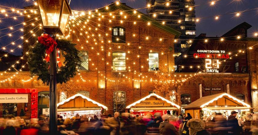 Christmas Lights | Courtesy of Toronto Christmas Market