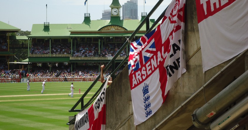 England fans at the Sydney Cricket Ground | © Tom Smith