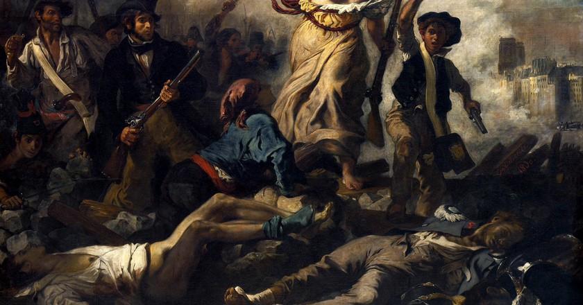 Eugène Delacroix's 'Liberty Leading the People'   Wikimedia Commons