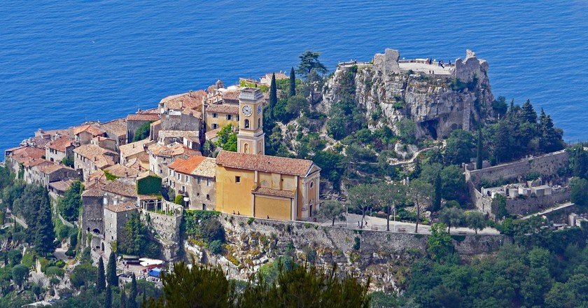 The Mediterranean hillside village of Éze   © hpgruesen/Pixabay
