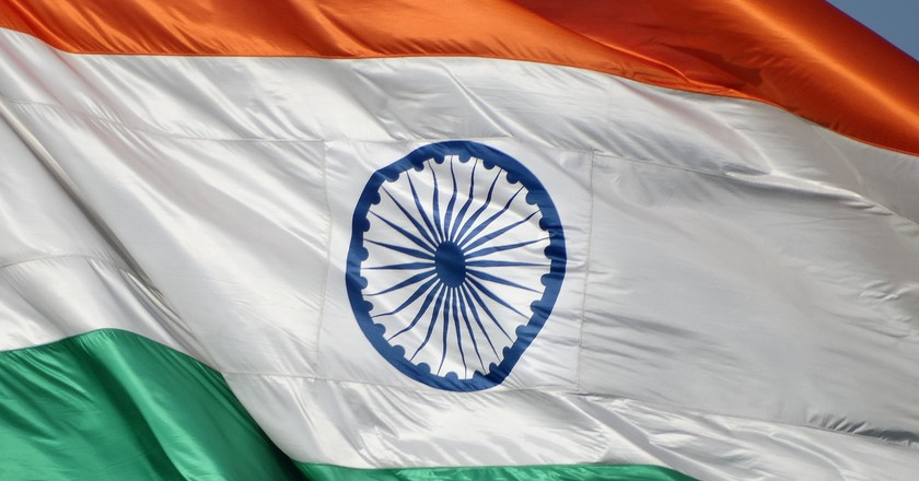 Indian Flag | © Adam Jones / Flickr
