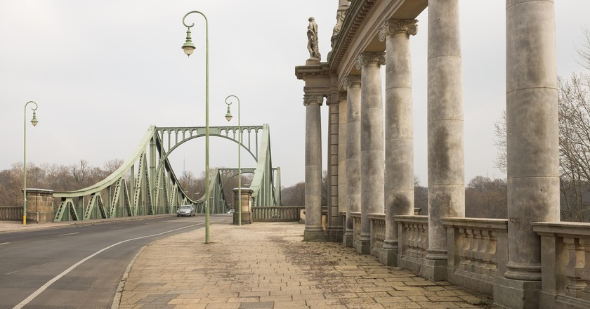 Glienicke Bridge in Potsdam