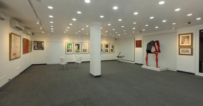 An interior view of the Focus Art Gallery on TTK Road, Alwarpet, Chennai   Image Courtesy of Mayur Shah/Focus Art Gallery