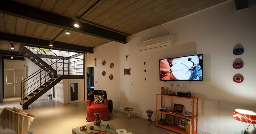 The common area at Gaia Comfort Hostel | Courtesy of Gaia Comfort Hostel