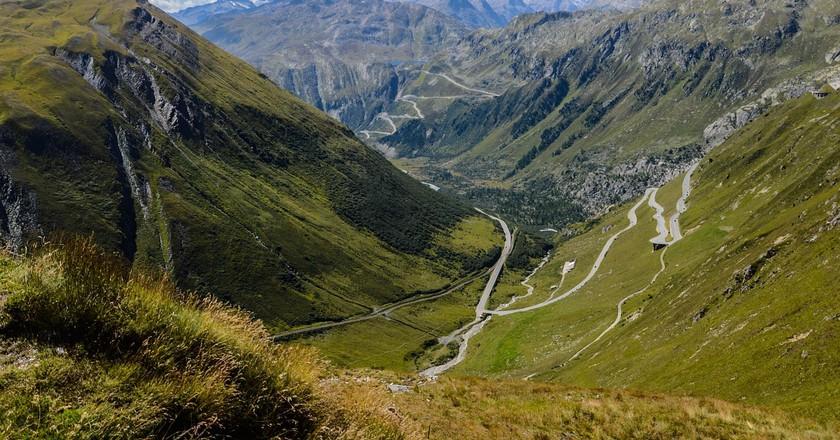 Take a journey through Switzerland by car